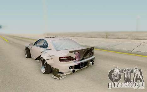 Nissan Silvia S15 Rb26dett Swap для GTA San Andreas