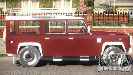 Land Rover Defender 110 для GTA 4