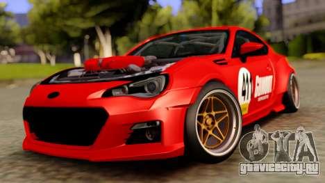 Subaru BRZ Rocket Bunny Red для GTA San Andreas