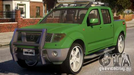 Nissan Frontier DUB для GTA 4
