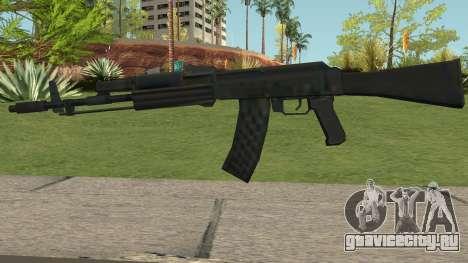 AK-74M LowPoly для GTA San Andreas