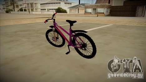 Велосипед Stern для GTA San Andreas вид сзади слева