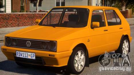 Volkswagen Golf Velociti для GTA 4