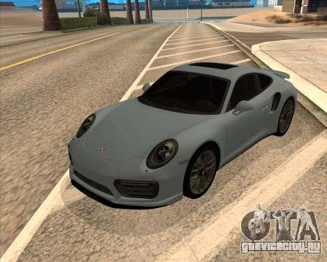 Porsche 911 Turbo S Tinted для GTA San Andreas