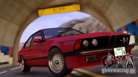 BMW M6 E24 Coupe для GTA San Andreas