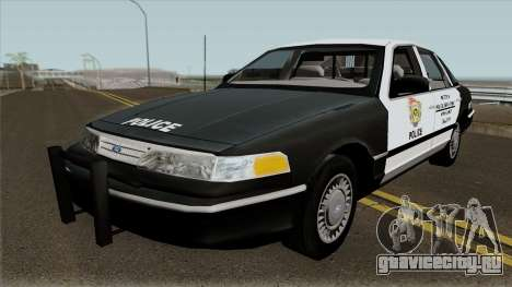 Ford Crown Victoria R.P.D. REO 1994 для GTA San Andreas