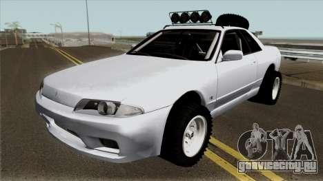 Nissan Skyline R32 Rusty Rebel Offroad для GTA San Andreas