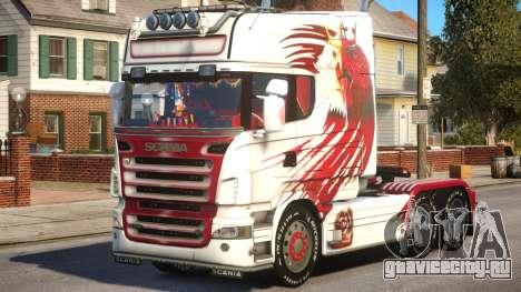 Scania R580 Longline Custom PJ15 для GTA 4