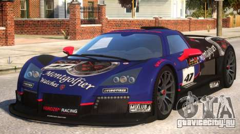2011 Gumpert Apollo S N47 для GTA 4