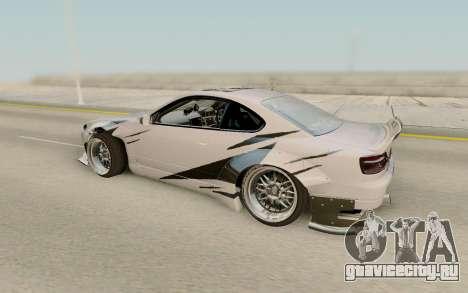 Nissan Silvia S15 Rb26dett Swap для GTA San Andreas вид слева