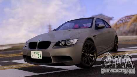 BMW E92 Coupe для GTA San Andreas