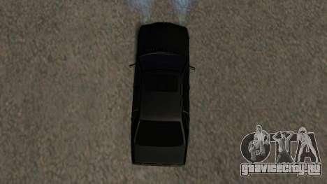 Mercedes-Benz S600 From Brigada для GTA San Andreas вид сверху