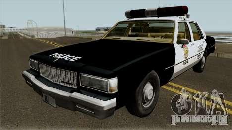 Chevrolet Caprice R.P.D 1987 для GTA San Andreas
