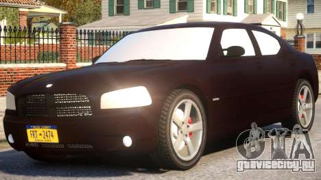 Dodge Charger RT 2007 Sedan для GTA 4