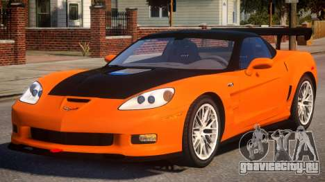 Chevrolet ZR1 v1 для GTA 4