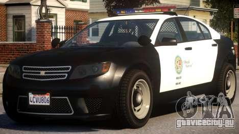 Cheval Fugitive Actuator FS Arjent для GTA 4