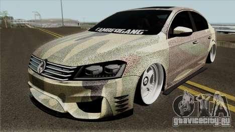 Volkswagen Passat 2011 (Snake) для GTA San Andreas