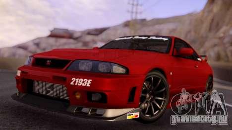 Nissan Skyline R33 GT-R NISMO Red для GTA San Andreas