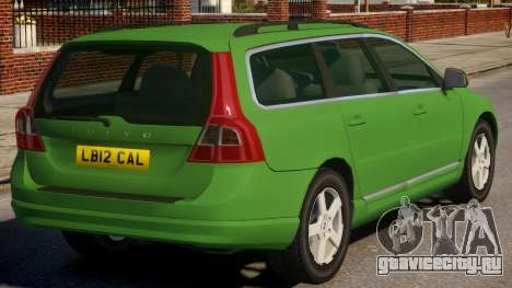 Volvo V70 Civilian Version для GTA 4