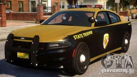 Maryland 2015 Dodge Charger для GTA 4