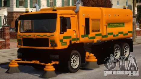 Road Sweeper для GTA 4