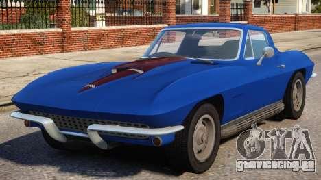 1967 Chevrolet Corvette Stingray V1.2 для GTA 4