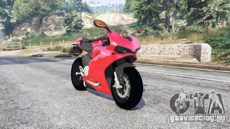 Ducati 1299 Panigale S 2015 v1.2 [replace] для GTA 5