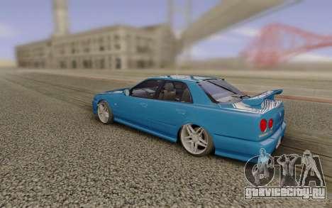 Nissan ER34 1999 для GTA San Andreas