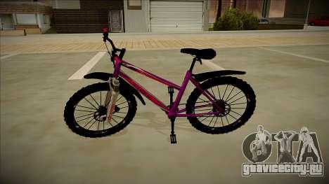 Велосипед Stern для GTA San Andreas вид слева