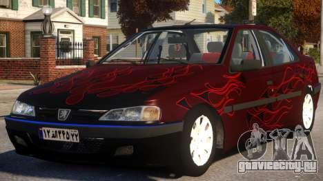 Peugeot Persia P2 для GTA 4