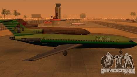 Боинг 727-200: 123robot издание для GTA San Andreas