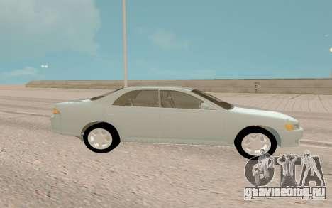 Toyota Mark II JZX90 Stock для GTA San Andreas вид справа