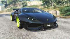 Lamborghini Huracan LibertyWalk v1.2 [replace] для GTA 5