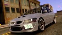 Mitsubishi Lancer Evolution VIII Toyo Proxes для GTA San Andreas