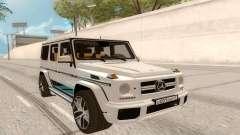 Mercedes-Benz G63 AMG Rus Plate для GTA San Andreas