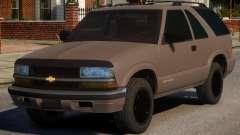 Chevrolet Blazer V1.2 для GTA 4