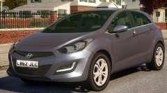 Hyundai i30 Civ для GTA 4