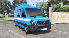 Mercedes-Benz Sprinter Ambulance [add-on] для GTA 5