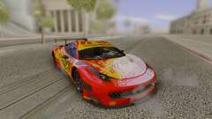 2014 Ferrari 458 Italia GT3 DTM для GTA San Andreas