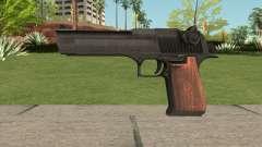 Desert Eagle Black Gun для GTA San Andreas
