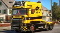 Scania R580 Longline Custom PJ14 для GTA 4