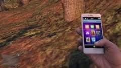 iPhone 6 Gold Michael для GTA 5