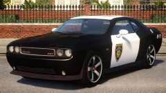 Dodge Challenger SRT8 Police для GTA 4