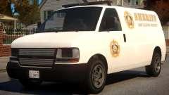Los Santos Police Speedo Transporter [ELS] для GTA 4