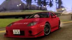 Mazda RX-7 FC3s Touge для GTA San Andreas