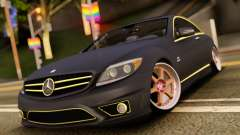 Mercedes-Benz СL65 AMG для GTA San Andreas