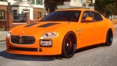 Maserati Quattroporte Sport GTS Tuned для GTA 4