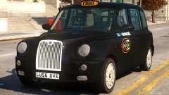 London Taxi Cab для GTA 4
