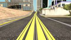 New San Fierro Roads and New Tram Station для GTA San Andreas
