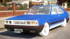 Volkswagen Passat Pointer GTS 1.8 1988 для GTA 4